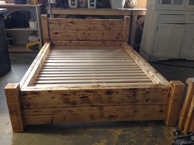 Beautiful Bespoke Wooden Bed Frames Model - Framed Art Ideas ...
