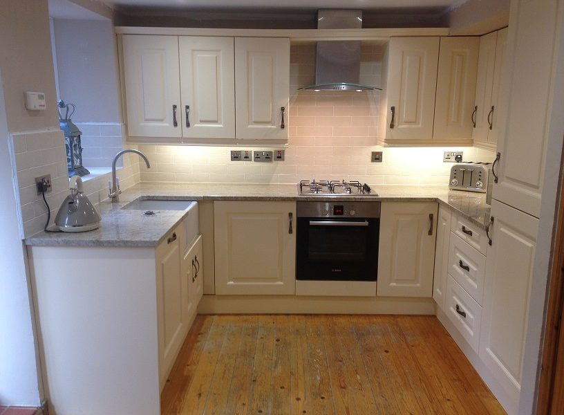 New kitchen in Greyabbey