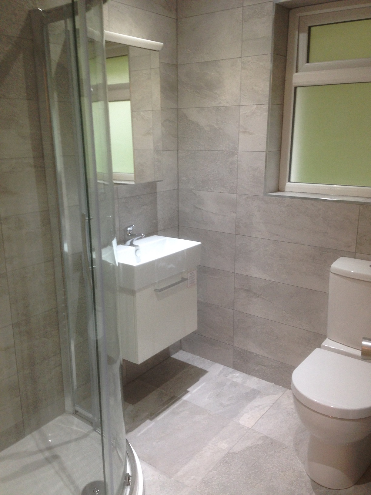 Bathroom & wc refurb – Bangor